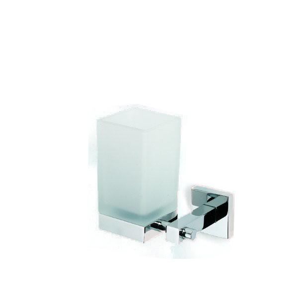 Accesorio de baño portavasos