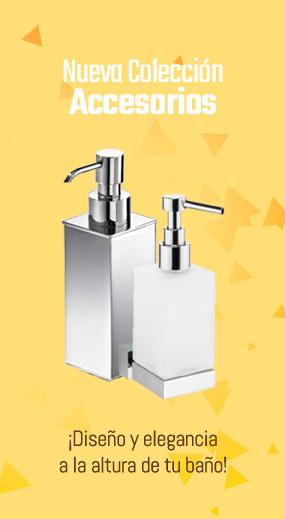 Nueva colección de accesorios de baño