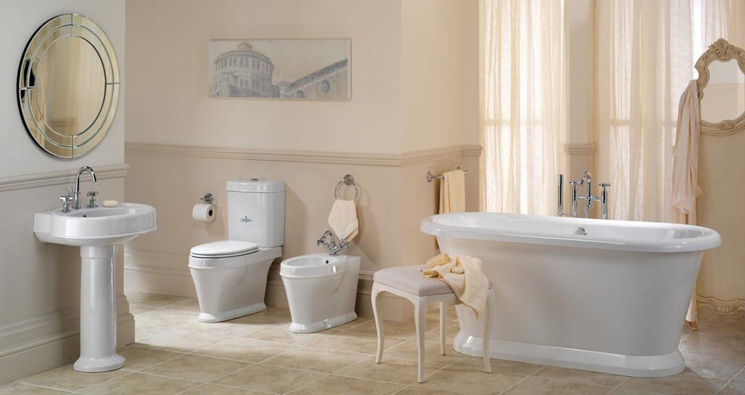 accesorios en cuartos de baño